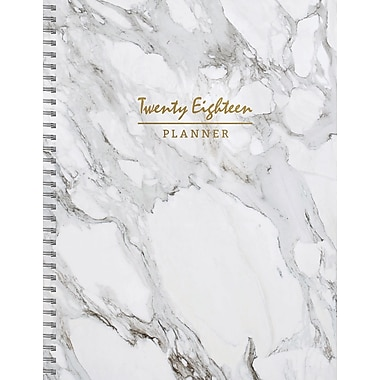 Tf Publishing 2018 Marble Large Weekly Monthly Planner 9