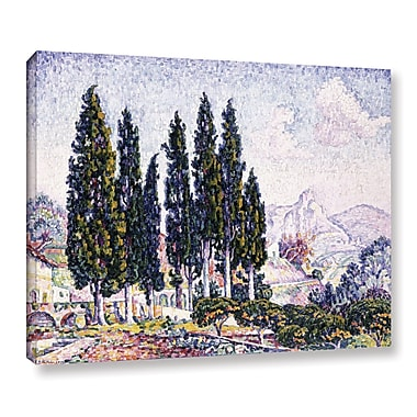 Latitude Run 'A Garden at Saint-Paul, 1923' by Paul Signac Painting Print on Wrapped Canvas