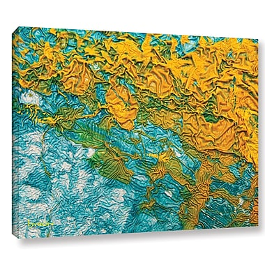 Ebern Designs 'Summer Breeze' Graphic Art on Wrapped Canvas; 8'' H x 10'' W