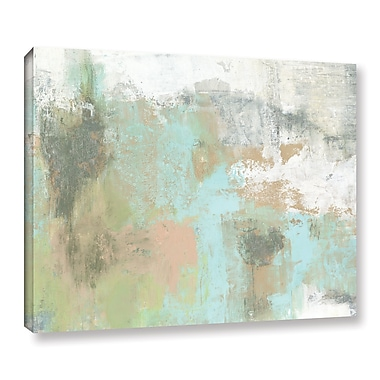 Ebern Designs 'The Grey Mountain' Painting Print on Wrapped Canvas; 8'' H x 10'' W x 2'' D