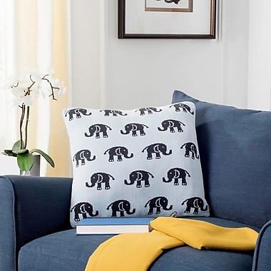 Harriet Bee Dolla Baby Elephant Throw Pillow; 12 x 20