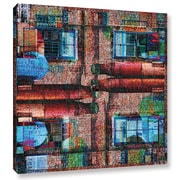 Varick Gallery 'Crayola Works' Graphic Art on Wrapped Canvas; 24'' H x 24'' W x 2'' D