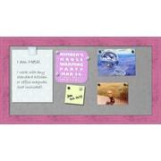 Zoomie Kids Framed Magnetic Bulletin Board; 26.25''