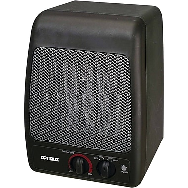Optimus Portable 1500 Watt Electric Fan Compact Heater