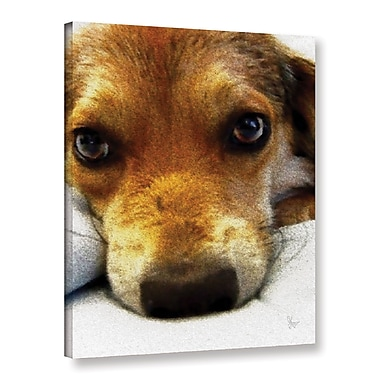 Ebern Designs 'Frank' Graphic Art on Wrapped Canvas; 24'' H x 18'' W x 2'' D