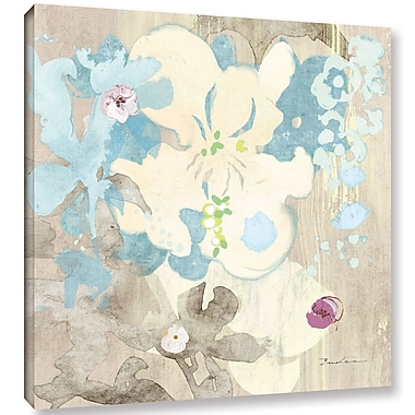Ivy Bronx 'Orchids in Shadow' Graphic Art on Wrapped Canvas; 24'' H x 24'' W x 2'' D