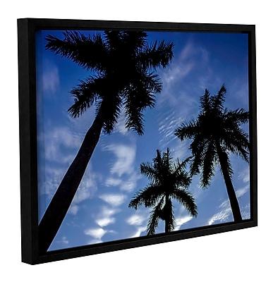 Ivy Bronx 'Palm Trees 01' Framed Photographic Print; 18'' H x 24'' W x 2'' D