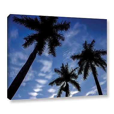 Ivy Bronx 'Palm Trees 01' Photographic Print on Wrapped Canvas; 8'' H x 10'' W x 2'' D