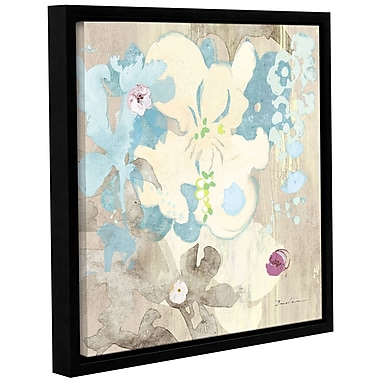 Ivy Bronx 'Orchids in Shadow' Framed Graphic Art; 14'' H x 14'' W x 2'' D