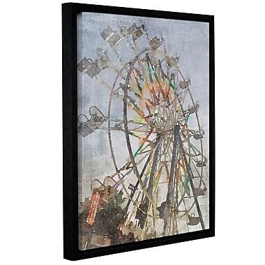 Latitude Run 'A Ferris Wheel 1' Framed Print on Canvas; 32'' H x 24'' W x 2'' D