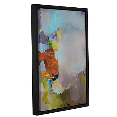 Ivy Bronx 'By the Sea' Framed Painting Print on Canvas; 24'' H x 16'' W x 2'' D