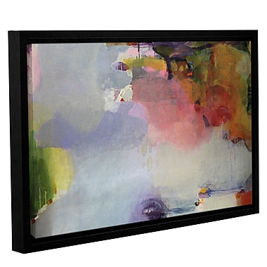 Ivy Bronx 'Other Side of the Moon' Framed Painting Print on Canvas; 12'' H x 18'' W x 2'' D