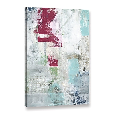 Ivy Bronx 'Raspberry Patch' Painting Print on Wrapped Canvas; 32'' H x 24'' W x 2'' D