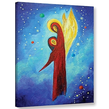 Latitude Run 'Cosmic Guardian' Painting Print on Wrapped Canvas; 24'' H x 18'' W x 2'' D