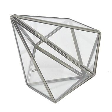 Three Hands Co. Metal Terrarium