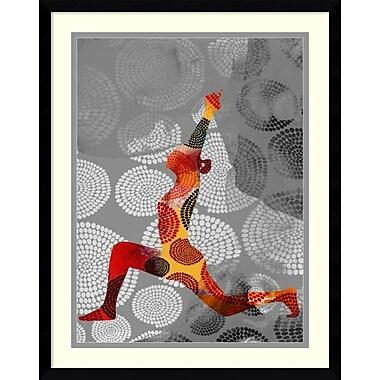 Bloomsbury Market 'Yoga Pose IV' Framed Graphic Art Print