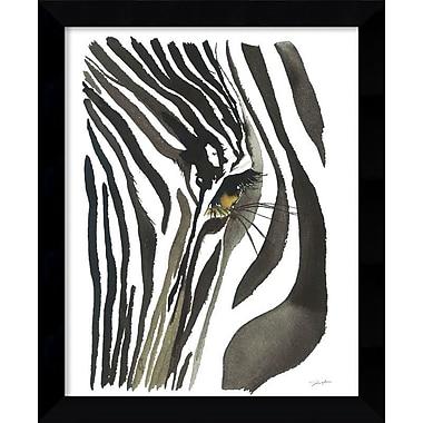 Bloomsbury Market 'Zebra Eye' Framed Graphic Art