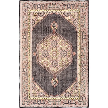 Bloomsbury Market Alessi Hand-Knotted Brown Area Rug