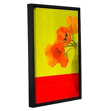 Latitude Run 'Red Tulips' Framed Graphic Art; 48'' H x 32'' W x 2'' D