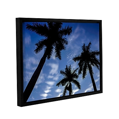 Ivy Bronx 'Palm Trees 01' Framed Photographic Print; 8'' H x 10'' W x 2'' D
