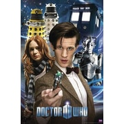 Frame USA 'Doctor Who - Collage' Graphic Art Print Poster