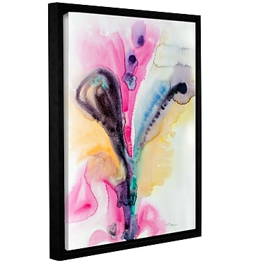 Latitude Run 'Flowing Energy' Framed Graphic Art; 10'' H x 8'' W x 2'' D