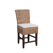 Bayou Breeze Tamayo Seagrass Counter Dining Chair