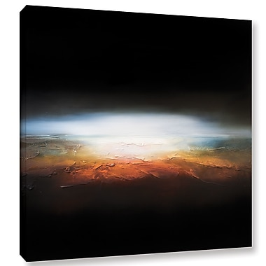 Ebern Designs 'Beneath the Heavens' Painting Print on Wrapped Canvas; 14'' H x 14'' W