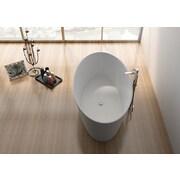Legion Furniture 63'' x 29.5'' Freestanding Soaking Bathtub