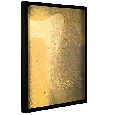 Latitude Run 'Muesli Honey' Framed Graphic Art on Wrapped Canvas; 18'' H x 14'' W x 2'' D