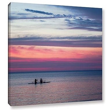 Latitude Run 'Rocky River' Photographic Print on Wrapped Canvas; 24'' H x 24'' W x 2'' D