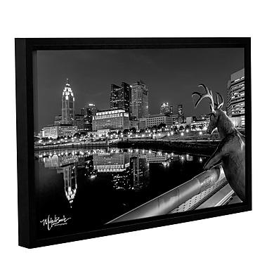 Latitude Run 'Columbus 3' Framed Photographic Print; 8'' H x 12'' W x 2'' D