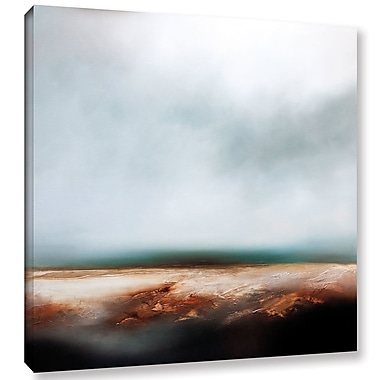 Ebern Designs 'Latitude' Painting Print on Wrapped Canvas; 10'' H 10'' W