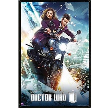 Frame USA 'Doctor Who - Bike' Framed Graphic Art Print Poster