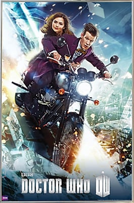 Frame USA 'Doctor Who - Bike' Framed Graphic Art Print Poster