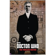 Frame USA 'Doctor Who - Peter Capaldi' Framed Graphic Art Print Poster