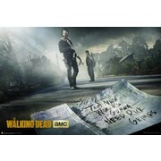 Frame USA 'The Walking Dead Season 5' Graphic Art Print Poster