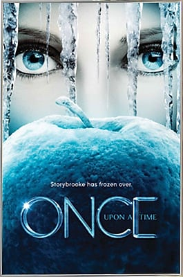 Frame USA 'Once Upon A Time - Frozen' Framed Graphic Art Print Poster