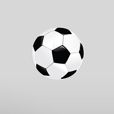 SweetumsWallDecals Soccerball Printed Wall Decal; 6'' H x 6'' W