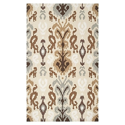 Bloomsbury Market Aime Putty Area Rug; Runner 2'3'' x 8'