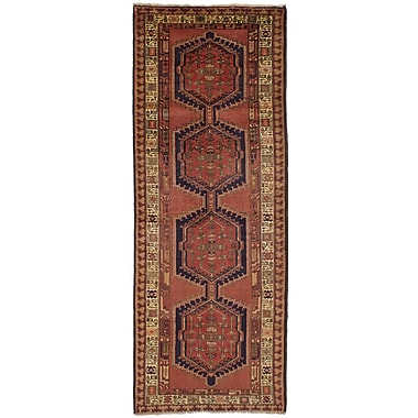 Bloomsbury Market Holloway Hand-Knotted Dark Copper Area Rug