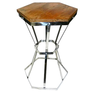 Loon Peak Barclee Steel Side Table