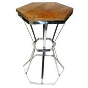Loon Peak Barclee Steel Side Table