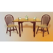 Darby Home Co Drop Leaf Dining Table; Nutmeg / Rich Honey Light Oak