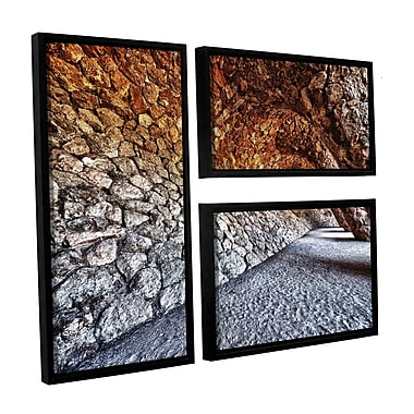 Bloomsbury Market 'The Dwarves Alley' 3 Piece Framed Photographic Print Set