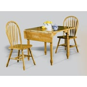 Darby Home Co Drop Leaf Dining Table; Rich Honey Light Oak