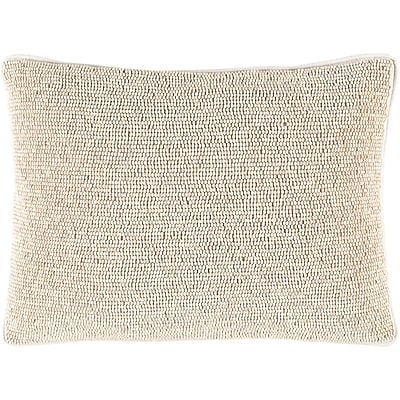 Bloomsbury Market Attie 100pct Cotton Lumbar Pillow Cover; Neutral