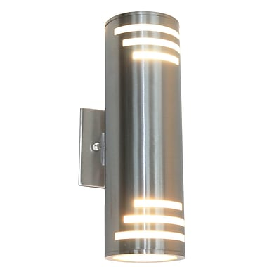 Orren Ellis Epsilon 2-Light Outdoor Sconce
