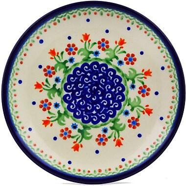 Polmedia Spring Flowers Polish Pottery Decorative Plate