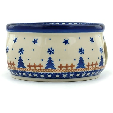 Polmedia Polish Pottery Winter Snow Heater